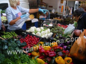 mercato verdure